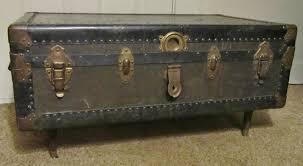 ideas steamer trunk coffee table