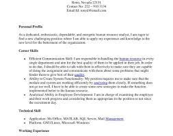 resume stunning entry level human resources resume i took the