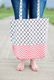 Tote Bag Pattern Beauteous How To Make A Bag Tote Bag Pattern And Tutorial