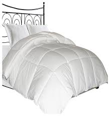 microfiber cover natural feather down fiber blend comforter white twin contemporary duvet inserts