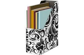Decorative Magazine File Holder