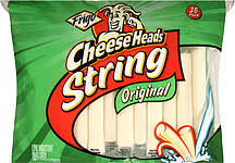 nutrition facts cheese head string cheese