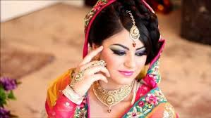 hindu bridal makeup