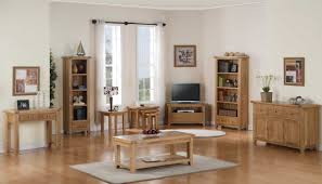 Used Living Room Furniture Rustic Oak Living Room Furniture With No Veneers Are Used Home