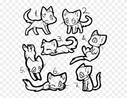 warrior cat drawing outline.  Cat Free Warrior Cat Outlines  Draw A Chibi Intended Drawing Outline W