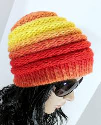 Loom Hat Patterns Gorgeous Ombre Beanie Pattern Free Loom Knit Hat Pattern For Extra Large 48