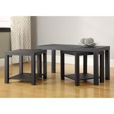 Coffee Table Set Of 3 Zipcode Design Clarice 3 Piece Mini Coffee Table Set Reviews