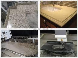 samples of cnc stone cutting and polishing machine for quartz granite marble