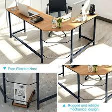 Side view office set Office Furniture Reverse Somsakinfo Reverse Shaped Desk Shape Executive Desk Reverse Layout Side