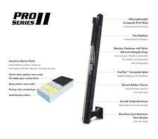 power pole anchoring docking power pole pro2 series black 8 ft new mdl pp pr2 8