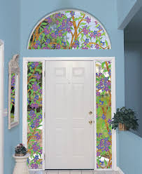 biscayne stained glass decorating sidelights
