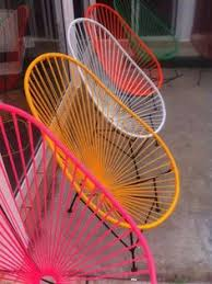 trendy outdoor furniture. i am a bit obsessed with acapulco chairs and need one in my life trendy outdoor furniture