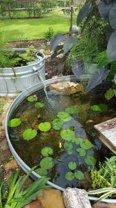 a tiered fountain stock tank pond i