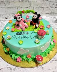 Mickey Mouse Cake Cake For Daughter Cakes Noida Greater Noida