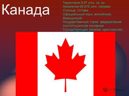 Презентация на тему Канада Скачать бесплатно и без регистрации  Канада Территория 9 97 млн кв км Население 30 675 млн