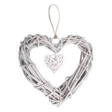 <b>1pcs Chic Wicker Heart</b> Wreath Artificial Wreaths Wedding ...