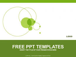 Ppt Templates Download Free Green Circle Powerpoint Templates Design Download Free