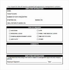 Vacation Request Forms For Employees Vacation Request Form Template Luxury Category Form 3 Charityguardfo