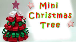 Mini Christmas Tree - EASY!! Ana | DIY Crafts.Christmas ...