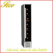 architecture 6 bottle wine refrigerators amazing com enthusiast 272 03 07 silent touchscreen with