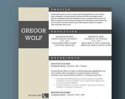 Word Masculine Resume Template Modern Modern Masculine Resume Template Two Page Cover Letter Etsy