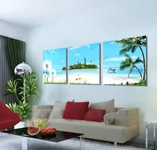 Living Room Art Paintings Popular Beach Art Paintings Buy Cheap Beach Art Paintings Lots