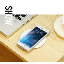 iphone wireless charging pad. usams us-cd24 boswell series electroplating qi wireless charging mat for iphone x/8 iphone pad t