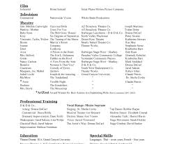 Modern Dance Resume Dance Resume For College Template Best Luxury Examples Audition 5