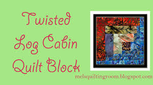 Twisted Log Cabin Quilt Block - YouTube & Twisted Log Cabin Quilt Block Adamdwight.com
