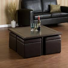 ottoman with shelf underneath leather coffee table target pouf red ottomans at storage round walm