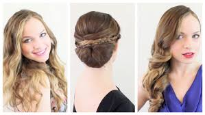 Occasion Hair Style 3 valentines hairstyles for every occasion youtube 1898 by wearticles.com