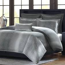 gray ruffle comforter silver bedding black sets duvet covers grey twin