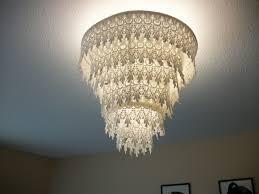 venise lace faux chandelier