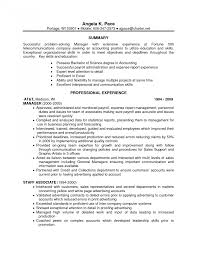 List Of Resume Skills Resumes Non Technical For Examples And