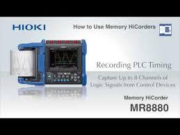 Hioki Chart Recorder Data Acquisition Memory Hicorder Mr8880 Hioki