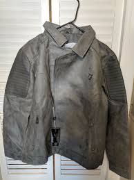 vg world collection men s suede jacket grey