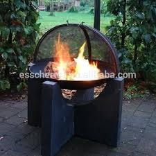 design concrete base cast iron outdoor heavy duty fire pits esschert pit wood