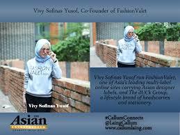 vivy sofinas yusof co founder of fashionvalet entrepreneur interview