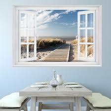 Fototapete Beach Window 2t1 127cm X 183cm Meer Strand Dünen Ocean