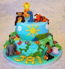 Animals Jungle Kids Birthday Cake Bakistopk Lahore Free Delivery