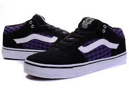 vans shoes black and purple. vans half cab pro black-purple shoes black and purple