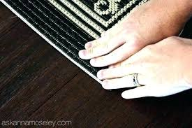 how to keep a rug in place on carpet how to keep area rugs from slipping