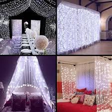 wedding picture backdrops. Modren Wedding Neretva Window Curtain Icicle Lights 304 LEDs String Fairy  98x98ft 8 Modes Linkable  Daylight White ChristmasWeddingParty Backdrops  Throughout Wedding Picture I
