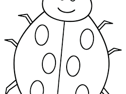 Lady Bug Coloring Sheet Coloring Pages Ladybug Paragatosyperros Co