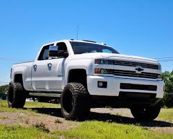 All Chevy chevy 2500 duramax diesel : Durrrtymax Jacks sweet white clean cognito lifted chevy Silverado ...