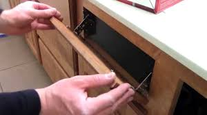 Add Drawers To Kitchen Cabinets How To Install Kitchen Bathroom Sink Flip Out Drawers Rev A