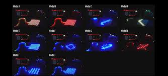 multi zone light show design