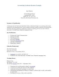 Example Of Resume For Accountant resume Sample Cpa Resume 56