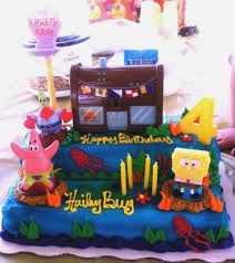 Spongebob Squarepants Cake Designs Freshbirthdaycakegq