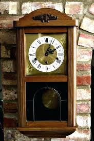 wall clocks that chime wall chiming clock vintage art west wall clock with chimes chiming wall